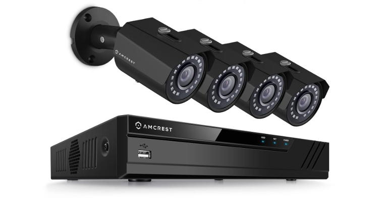 Amcrest AMNV20M4-4B-B 4-ch PoE IP Security Camera NVR Kit - NetworkCameraReviews